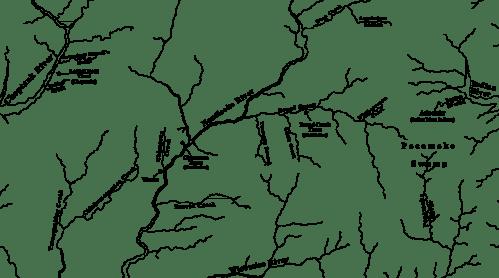 Nanticoke territory, 1742