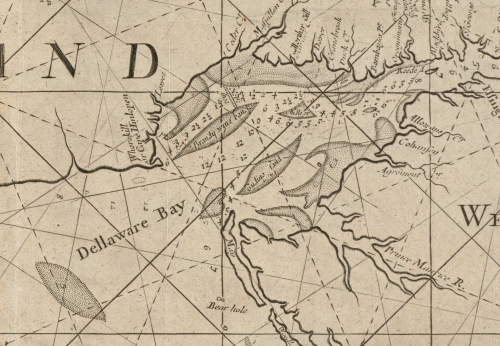 Thornton's map of 1706 shows Whorekill as an alternate name for Cape Henlopen.