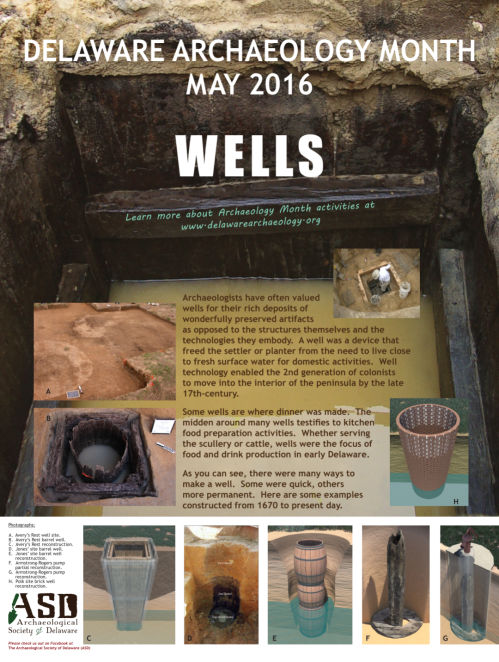 Delaware Archaeology Month, May 2016