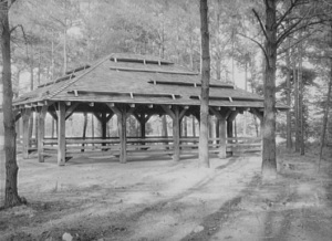 Pavilion at Trap Pond, 1937
